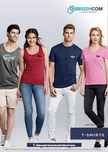 Catalogue breizhcom tshirts personnalisés